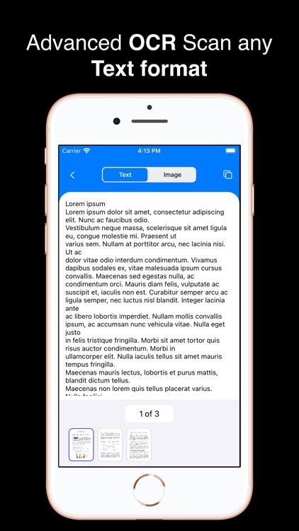 PDF Text Scanner [OCR] : Lens screenshot-3