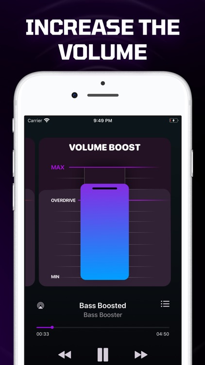 Bass Booster Volume Boom By Ekaterina Krivtsova