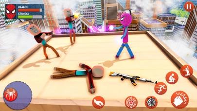Amazing Rope Stickman Warriors screenshot 3