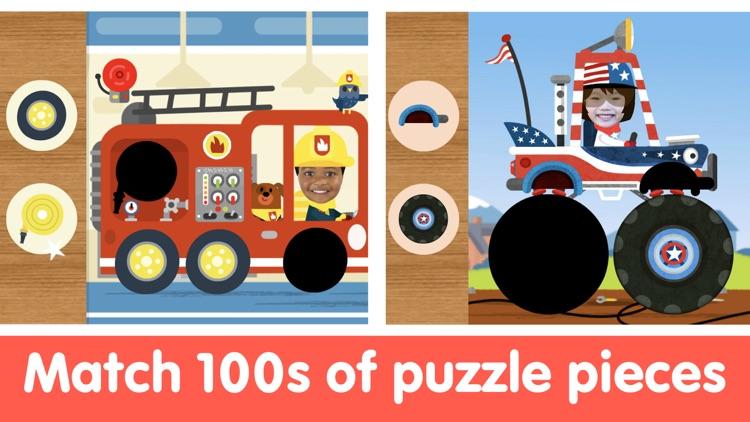 Toddler Car Puzzle Game & Race screenshot-4