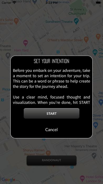 Randonaut Location Generator Screenshot