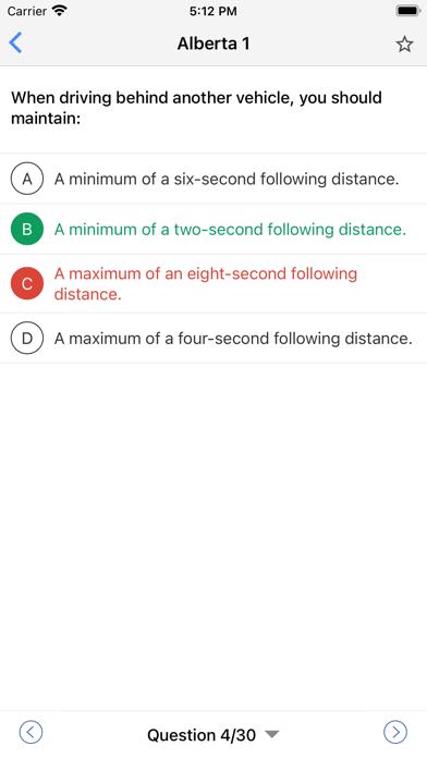 Canadian Driving Tests 2020 Screenshot