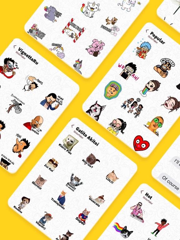 Stickers Funny of Meme & Emoji screenshot 15