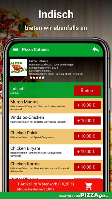Pizza Catania Sindelfingen screenshot 6