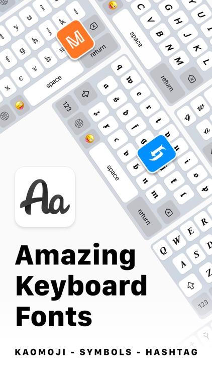 Keyboard Fonts & Emoji Maker screenshot-0