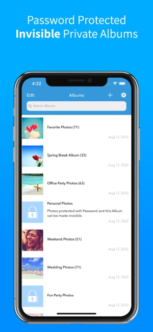 Photo Album Private Manager On The App Store