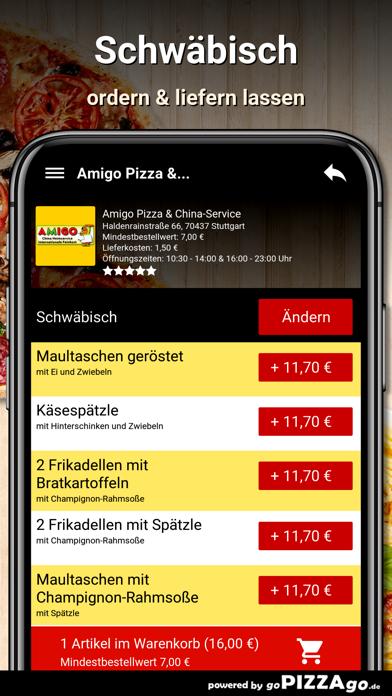 Amigo Pizza Stuttgart screenshot 6