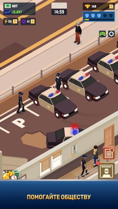 Скриншот №4 к Idle Police Tycoon - Cops Game