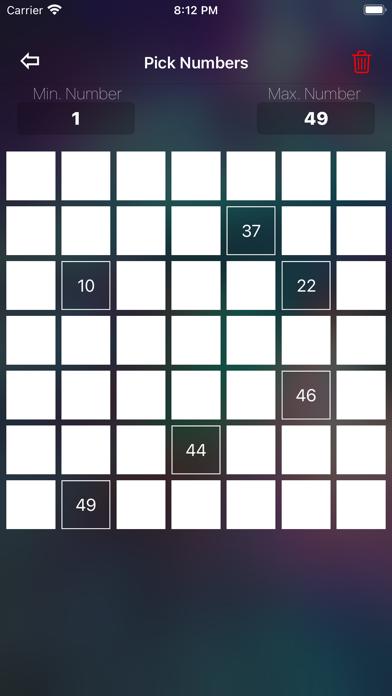 Скриншот №5 к Random Number Generator +
