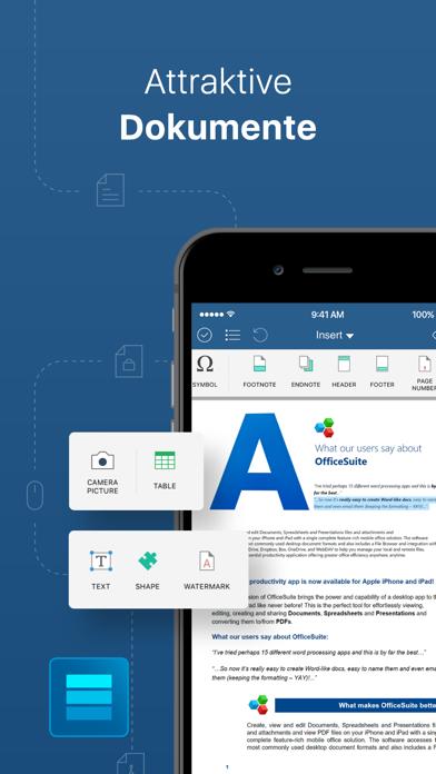 OfficeSuite Docs & PDF editorScreenshot von 2