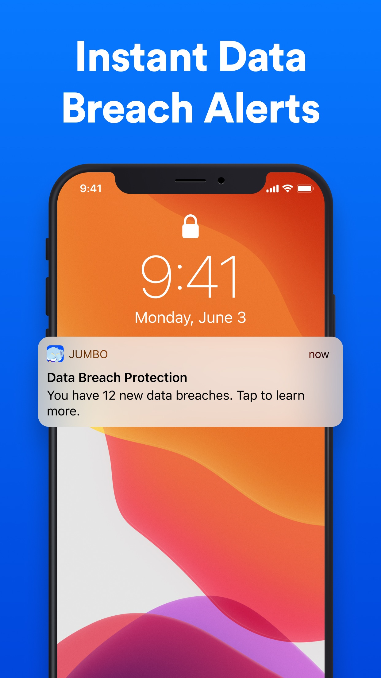 Screenshot do app Jumbo: Privacy + Security