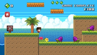 8 Bit Kid - Jumping World screenshot 1