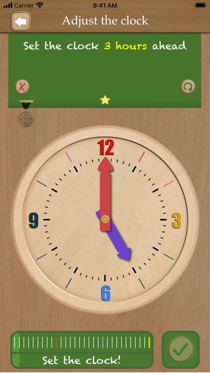 Set the clock screenshot-5