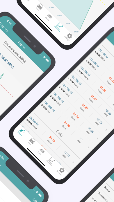 Screenshot #2 pour Fuel Cost Calculator & Tracker