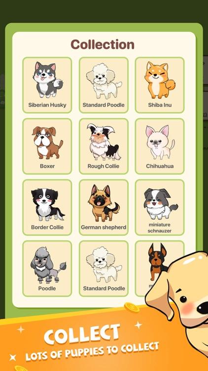 Puppy Town - Merge & Win screenshot-5