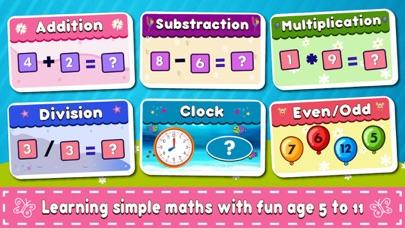 Kindergarten Math Educational screenshot 1