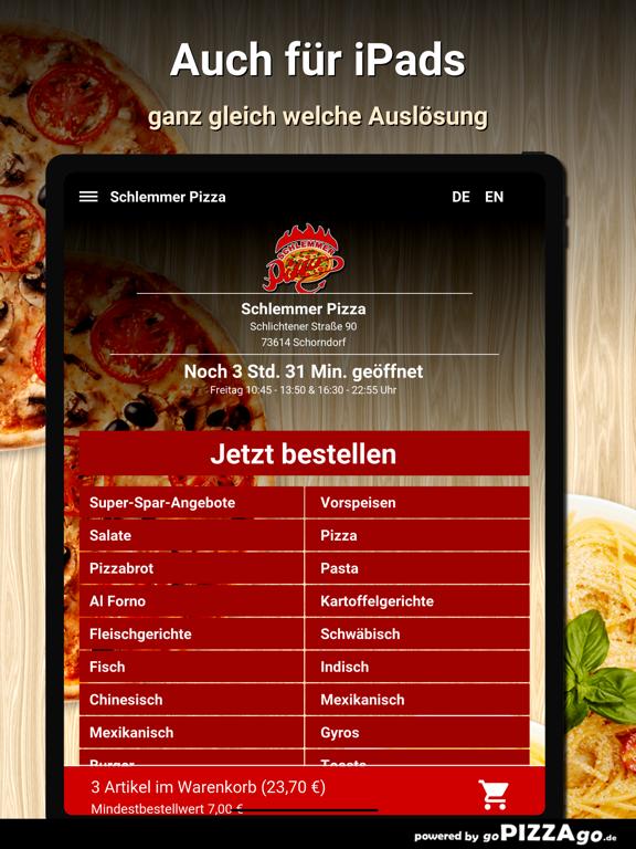 Schlemmer Pizza Schorndorf go screenshot 7