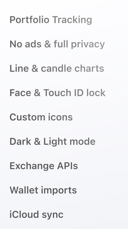 Crypto Pro - Portfolio Tracker screenshot-3