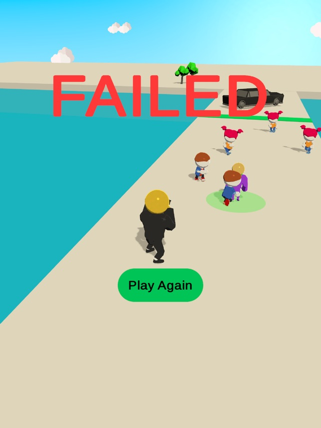 Bodyguard 3D, game for IOS
