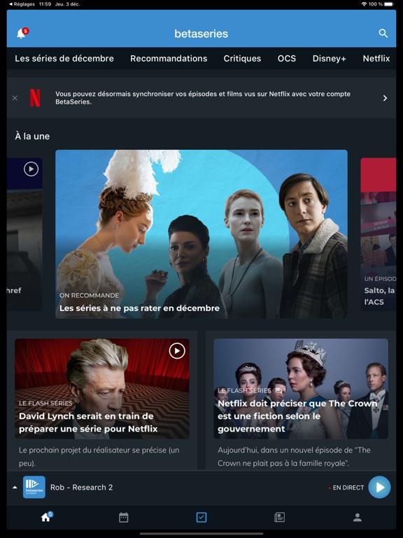 BetaSeries - Séries et films