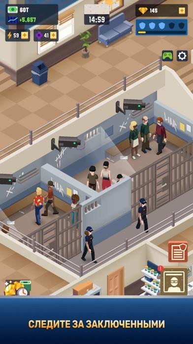 Скриншот №3 к Idle Police Tycoon - Cops Game