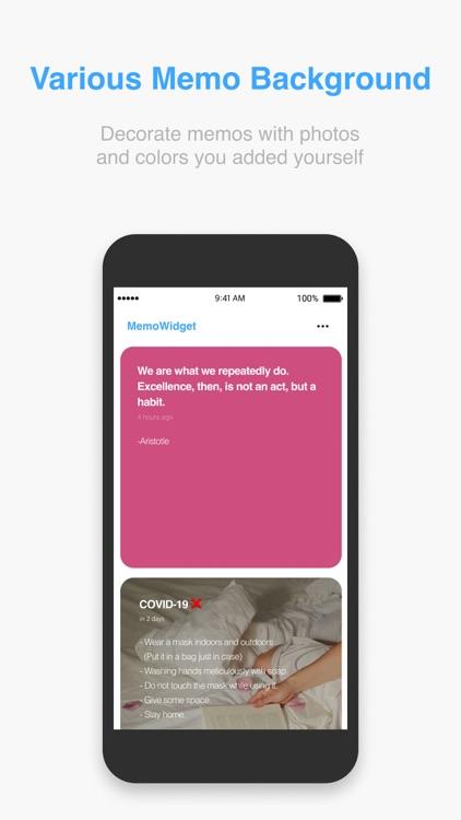 MemoWidget (todo&photo widget) screenshot-5