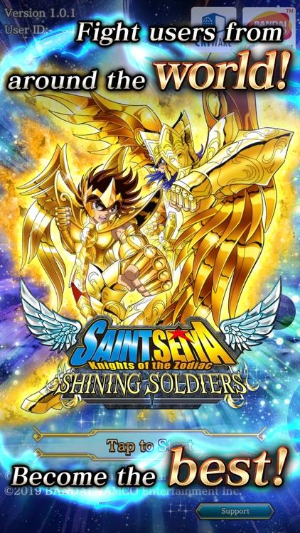 SAINT SEIYA SHINING SOLDIERS screenshot-0