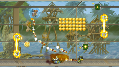 Screenshot from Jetpack Joyride