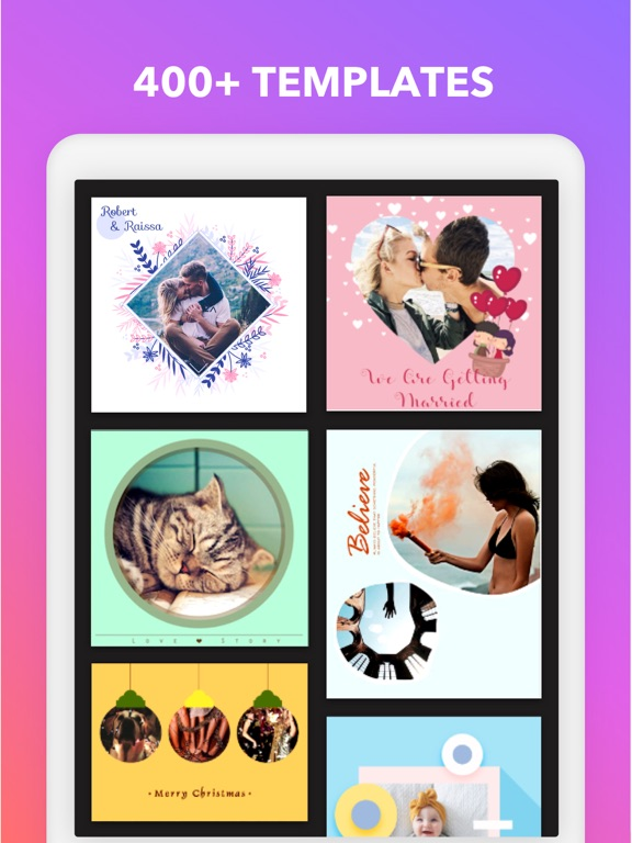 Magic Photo Collage - Frame Layout & Picture Grid screenshot