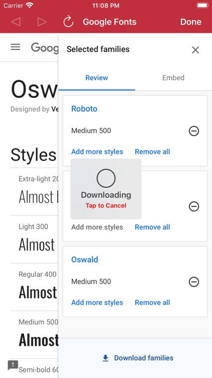 Custom Fonts - Font Installer screenshot-4