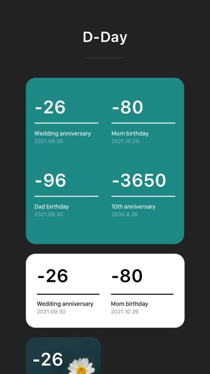 Widget Calendar screenshot-3