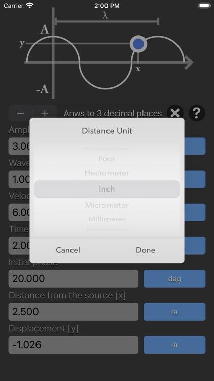 Harmonic Wave Equation Calc screenshot-3
