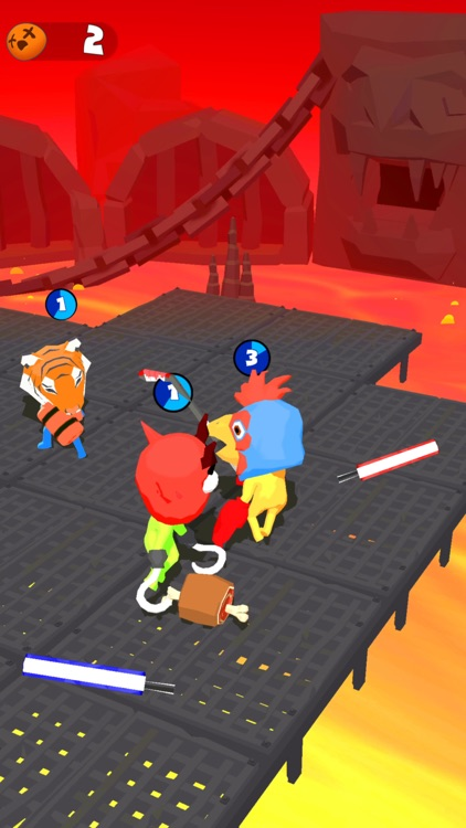 Stickman Boxing Battle 3D screenshot-4