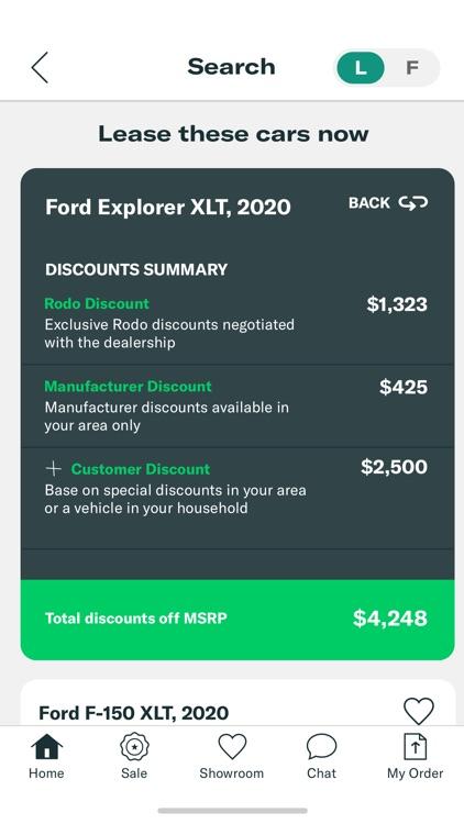 Rodo - Buy/Lease your next car screenshot-5