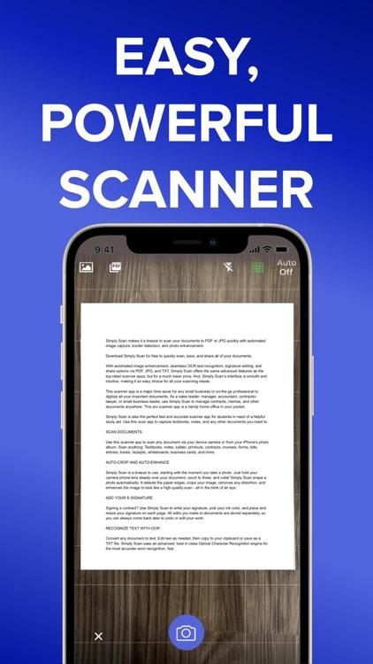 Simply Scan - PDF Scanner OCR