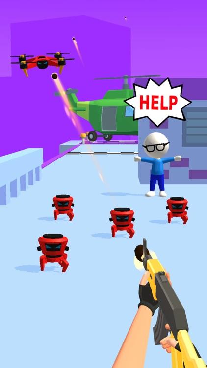 Gun Master 3D: Shoot 'Em Down screenshot-7