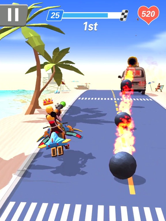 iPad Image of Racing Smash 3D
