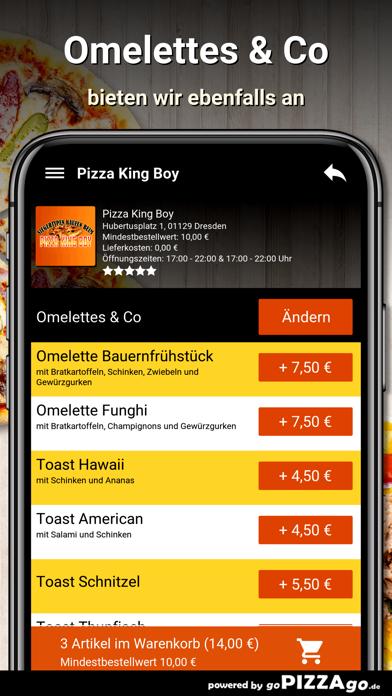 Pizza King Boy Dresden screenshot 6