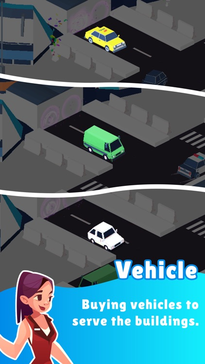 Taxi Inc. - Idle City Builder screenshot-6