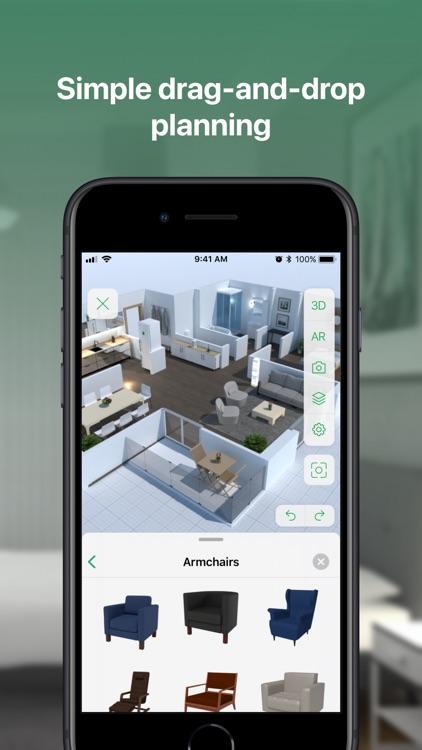 Planner 5D - Design Your House screenshot-4