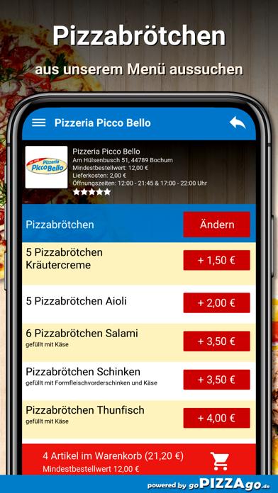 Pizzeria Picco Bello Bochum screenshot 5