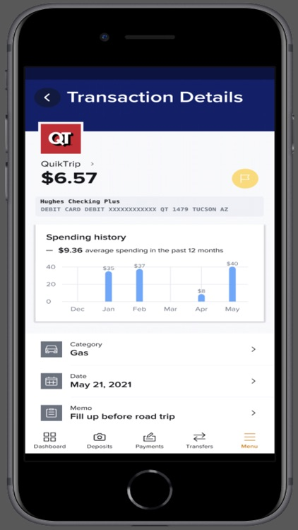 Hughes Mobile Banking screenshot-3