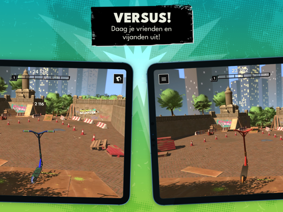Touchgrind Scooter iPad app afbeelding 3