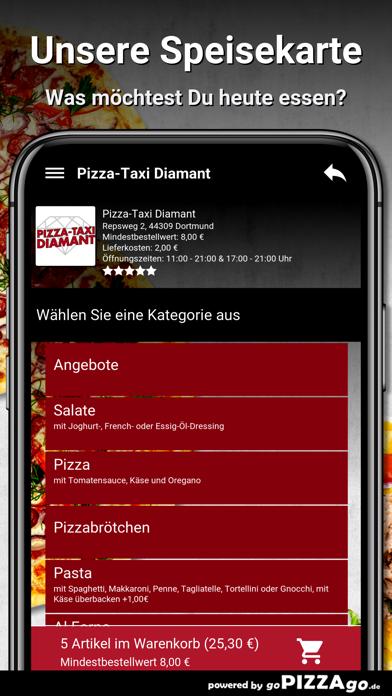 Pizza-Taxi Diamant Dortmund screenshot 4