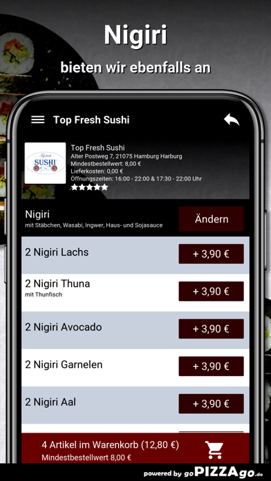 Top Fresh-Sushi Hamburg screenshot 6