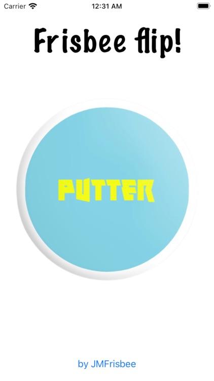 Frisbee flip