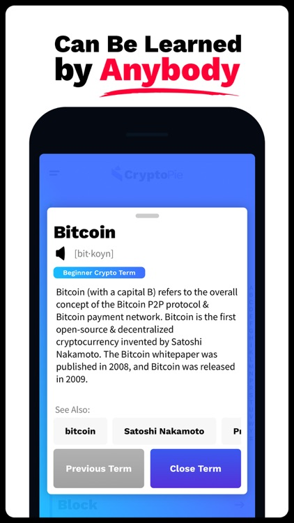 Crypto Pie  ▻  Learn Crypto