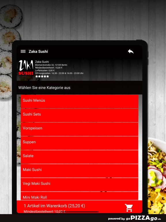 Zaka Sushi Berlin screenshot 8