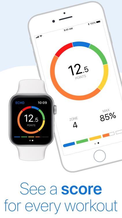 ECHO Heart Rate from the Watch screenshot-3