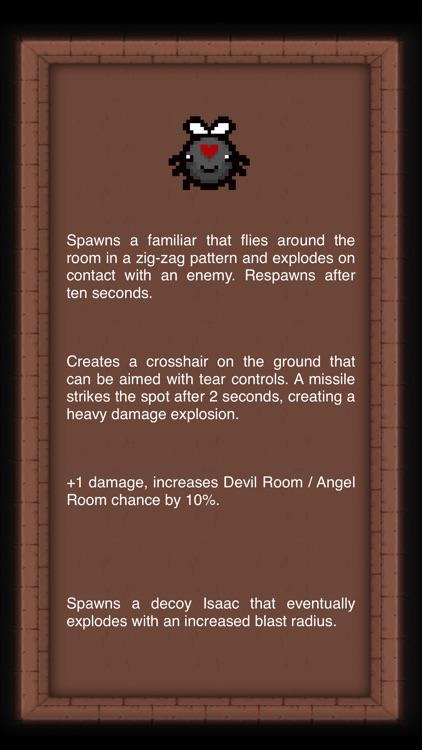 Trivia for Binding of Isaac screenshot-3